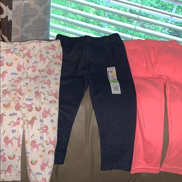 NEW Carter/'s Girls Pink Glitter Heart Knees Sweatpants NWT 2 3 4 5 6 7 8 Pants